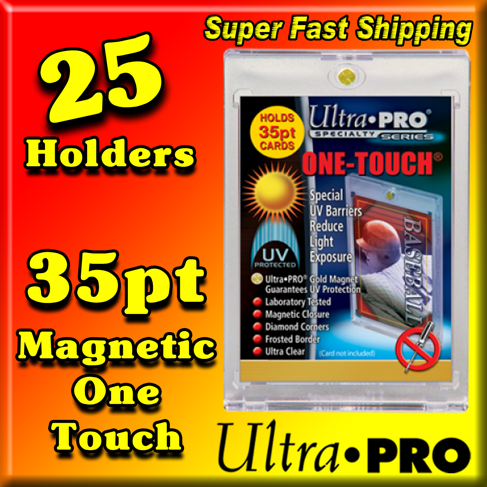 Ultra Pro Magnetic One Touch 35pt -25- USA ONLY
