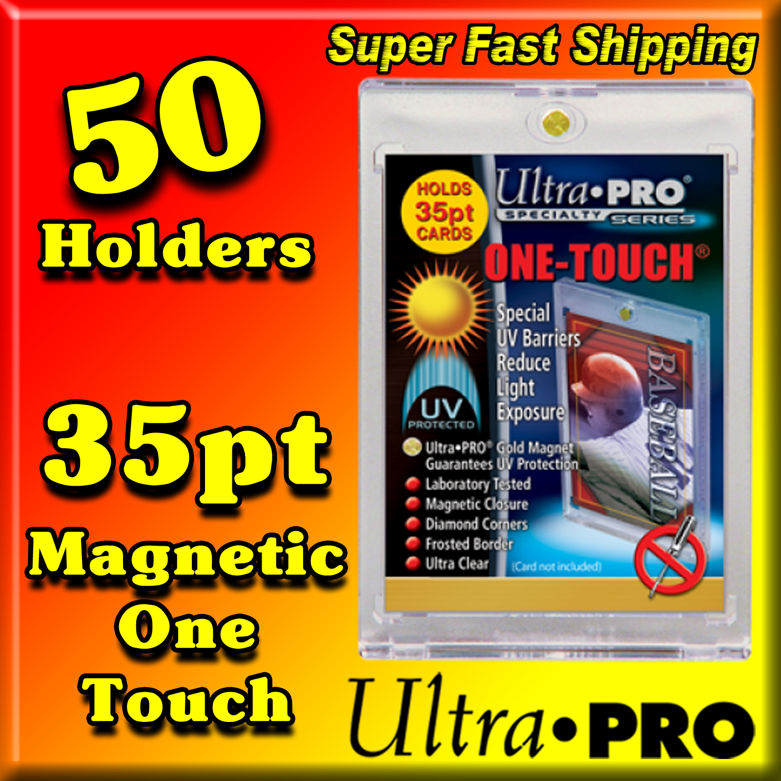 Ultra Pro Magnetic One Touch 35pt -50- USA ONLY