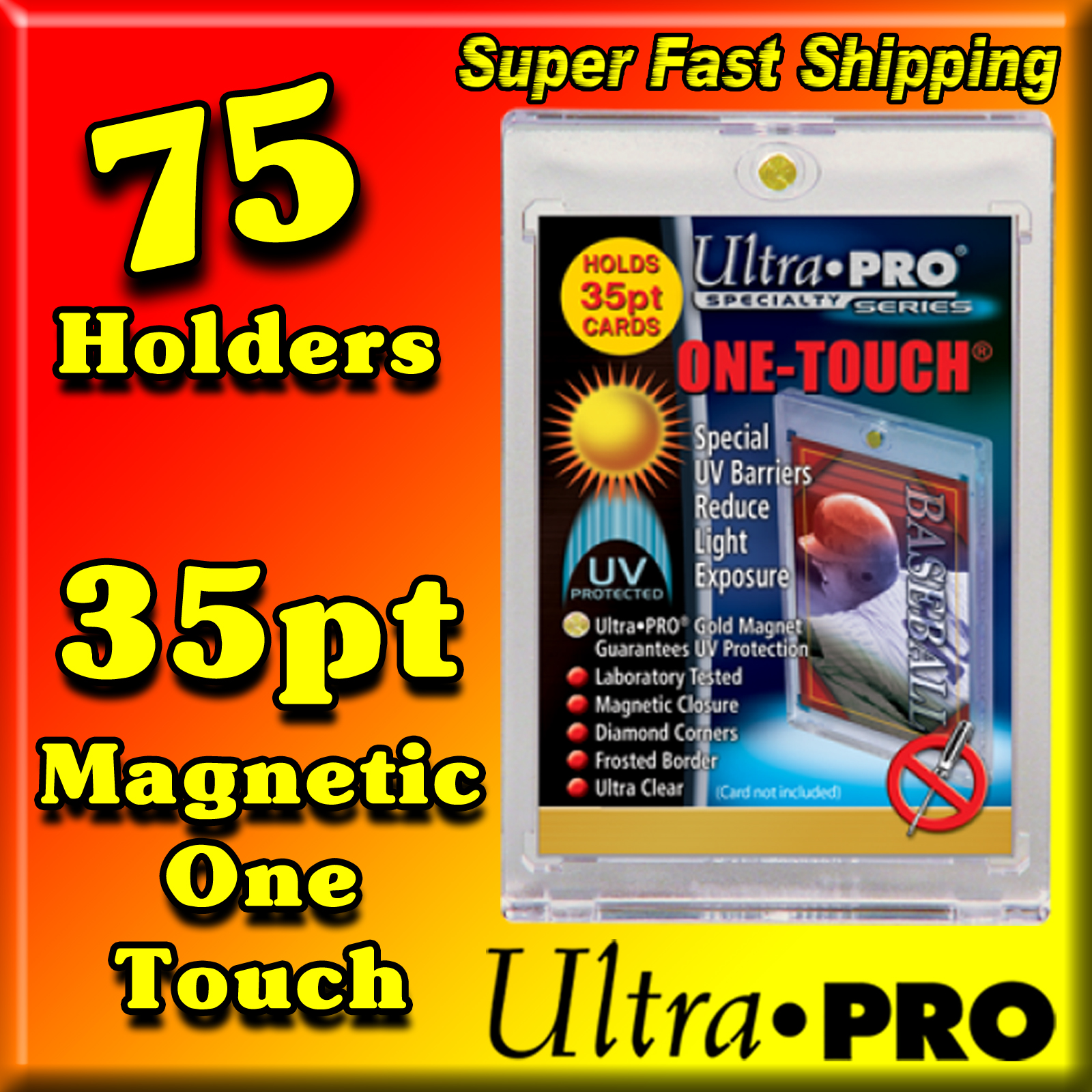 Ultra Pro Magnetic One Touch 35pt -75- USA ONLY