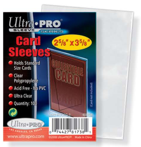 Ultra Pro Card Sleeves -100-