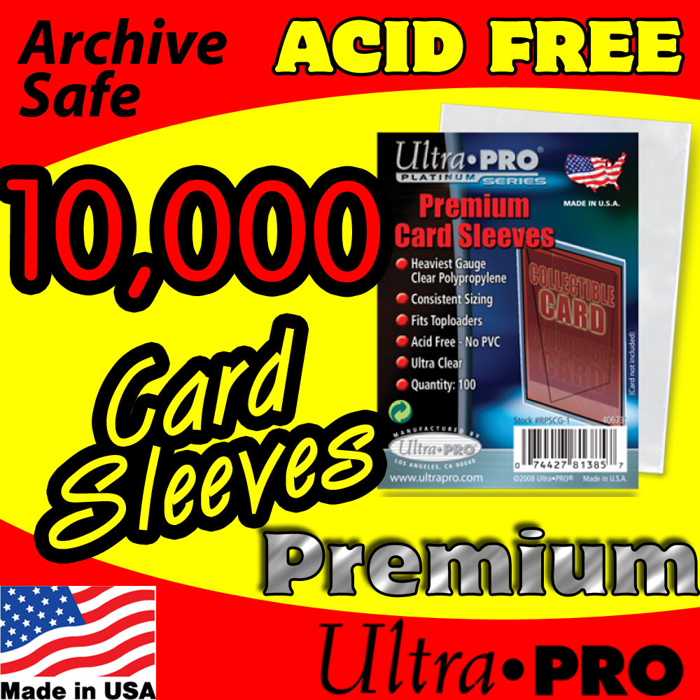 Ultra Pro Premium Card Sleeves -10,000-